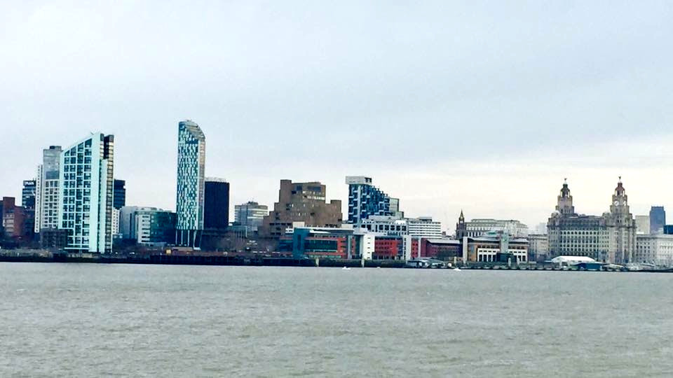 ​Liverpool's iconic Skyline from The Wirral