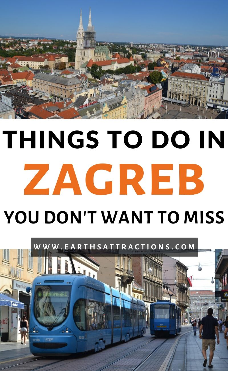 The best things to do in Zagreb, Croatia. Find out all you need to know to prepare your Zagreb trip: the best places to visit in Zagreb, best restaurants, best hotels in Zagreb, and useful Zagreb tips from a local. Use this Zagreb travel guide to create your Zagreb itinerary and to plan the perfect Zagreb holiday. #zagreb #croatia #zagrebguide #travelguide #europe #travel