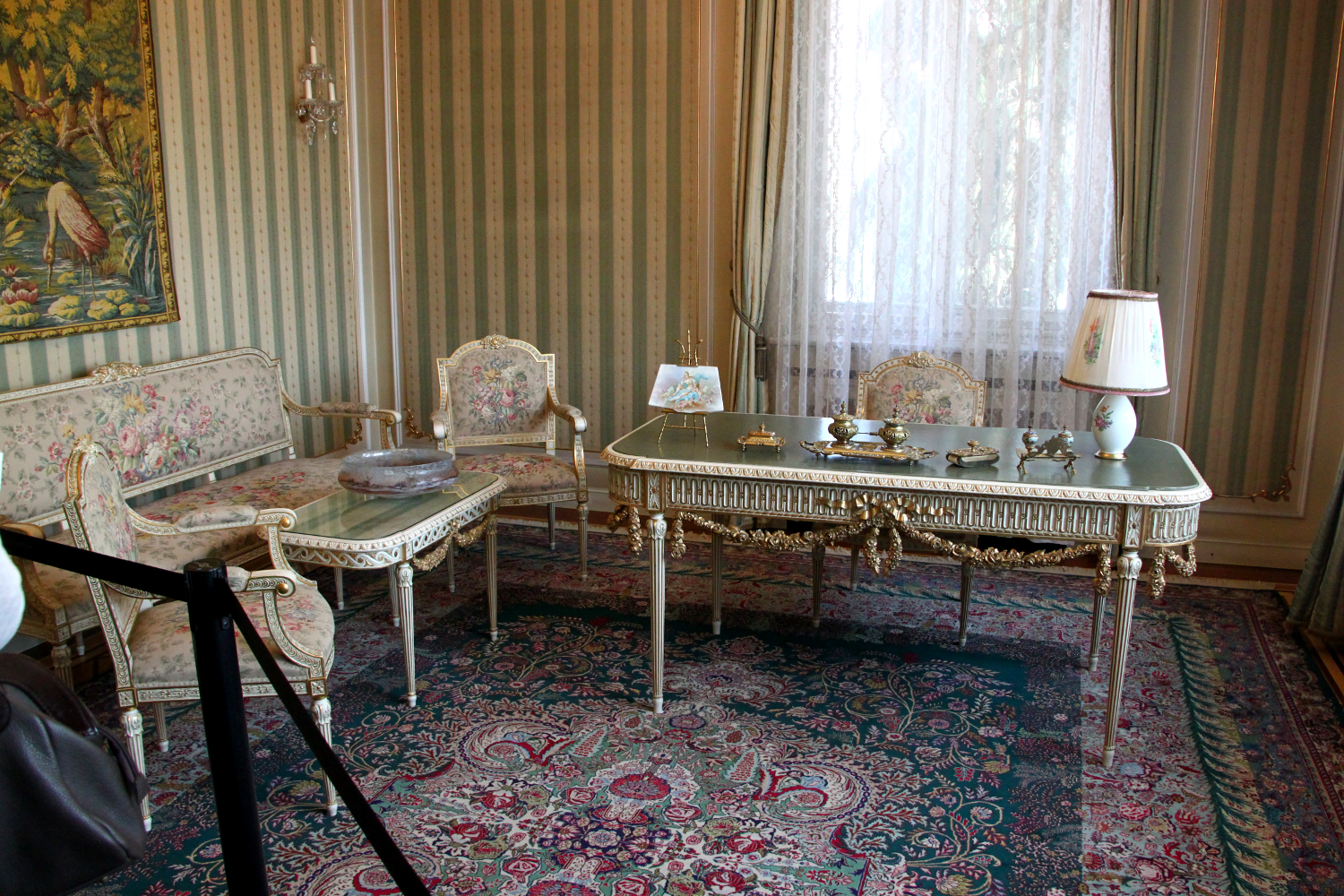 Zoe Ceausescu's office - Spring Palace, Bucharest. The Spring Palace is a must-visit place in Bucharest. Discover what to do in Bucharest in one day