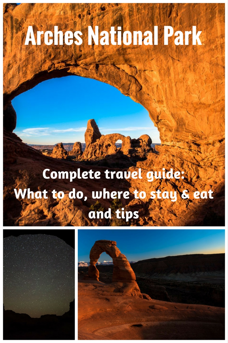 A complete travel guide to Arches National Park (USA) with all you need to know: what to see, where to stay, where to eat, and tips