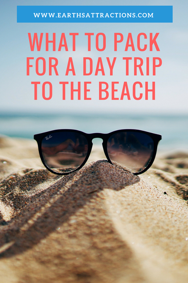 Packing list for a day trip to the beach - #travel #tips #daytrip #traveltips