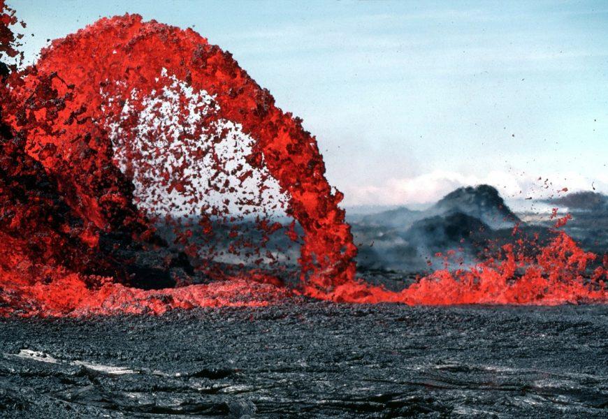 Visiting volcanoes