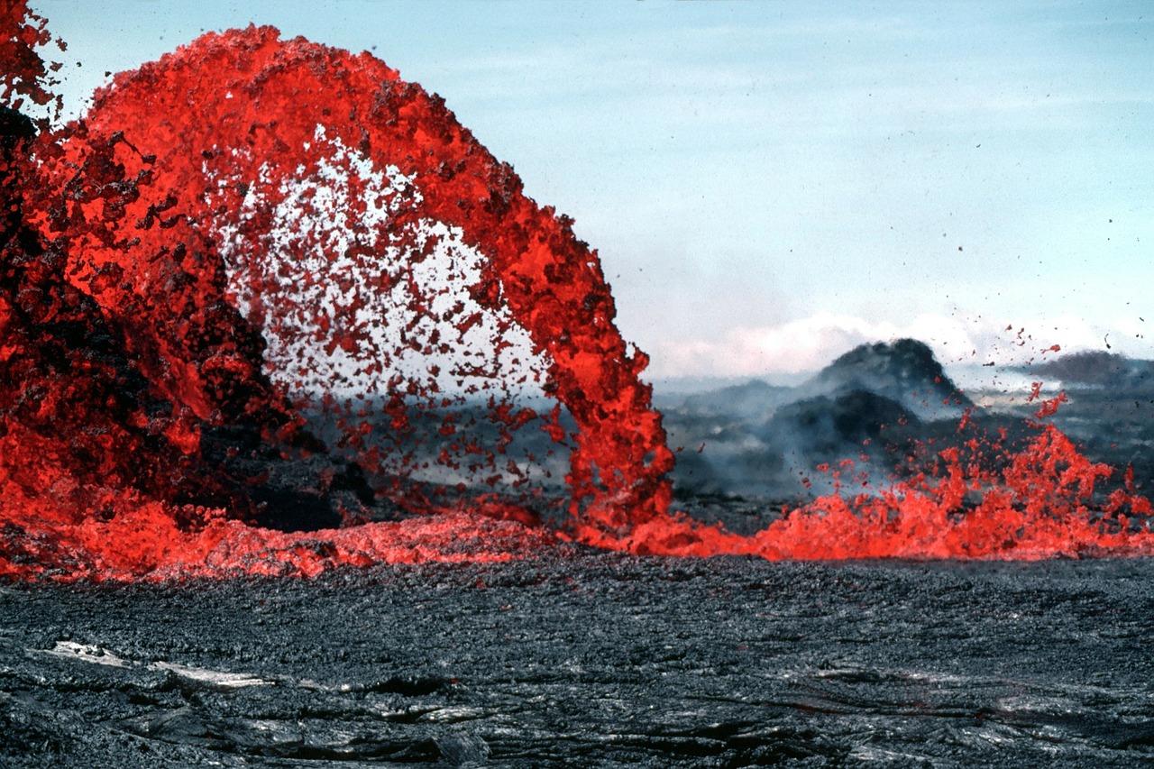 visiting volaconoes - lava