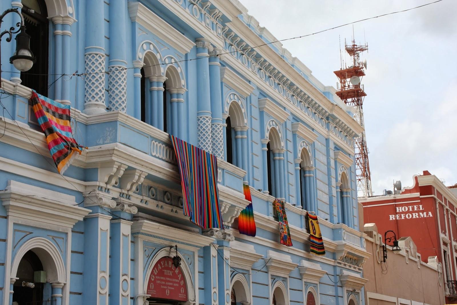 Pastel colonials near centro - A complete guide to Merida, Mexico