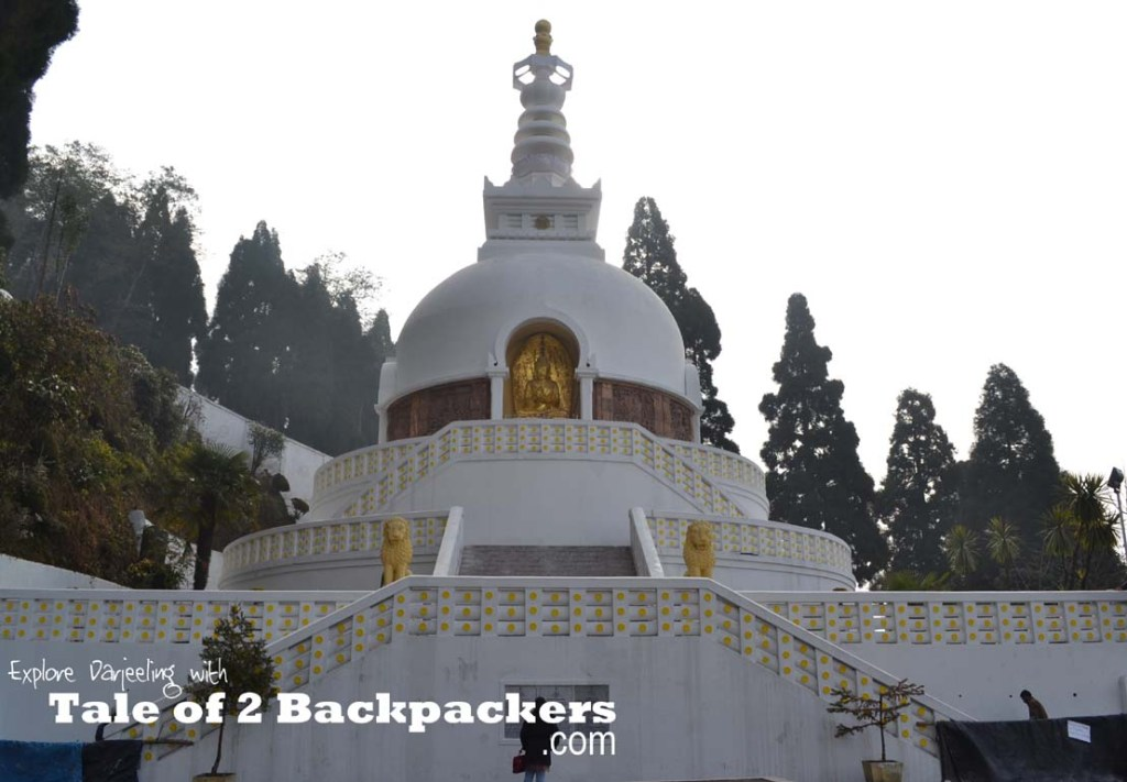 Japanese Peace Pagoda - A Complete Travel Guide to Darjeeling, India