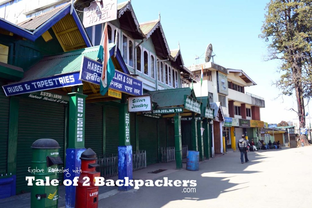 The Mall or Chowrasta - A Complete Travel Guide to Darjeeling, India