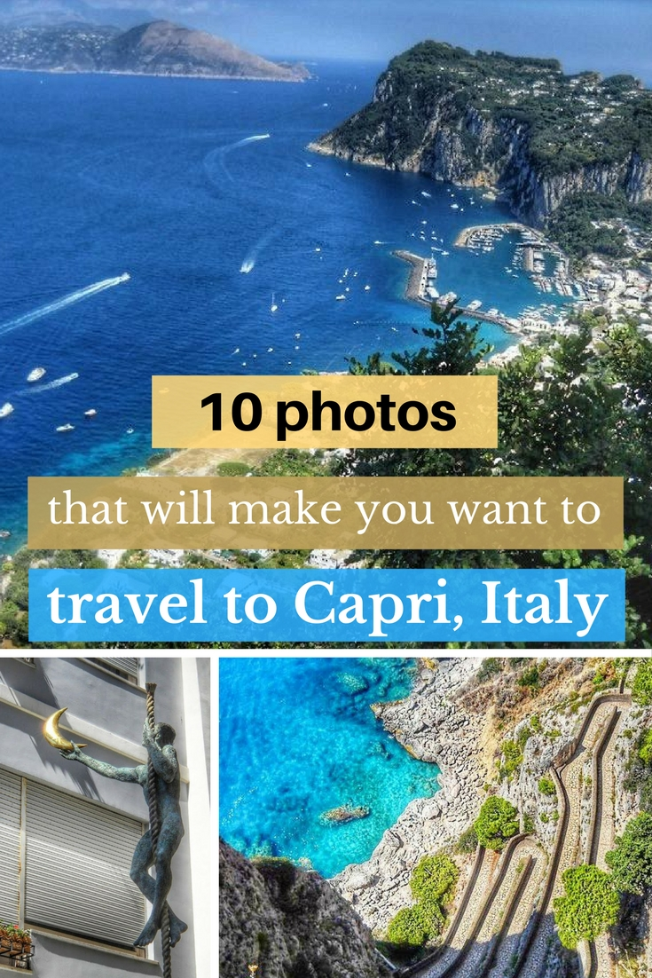 10 photos that will make you want to travel to Capri, Italy