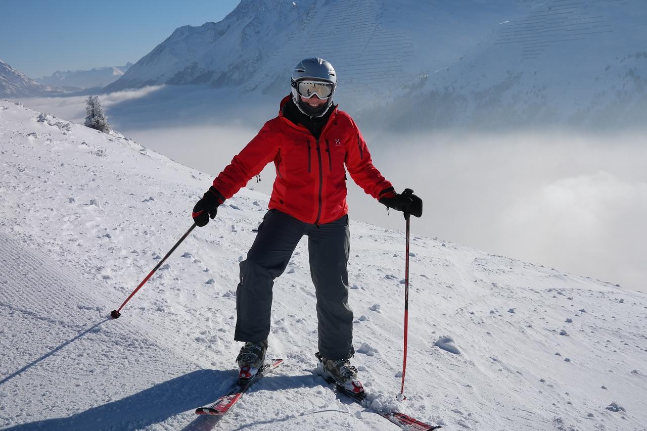 skier ski