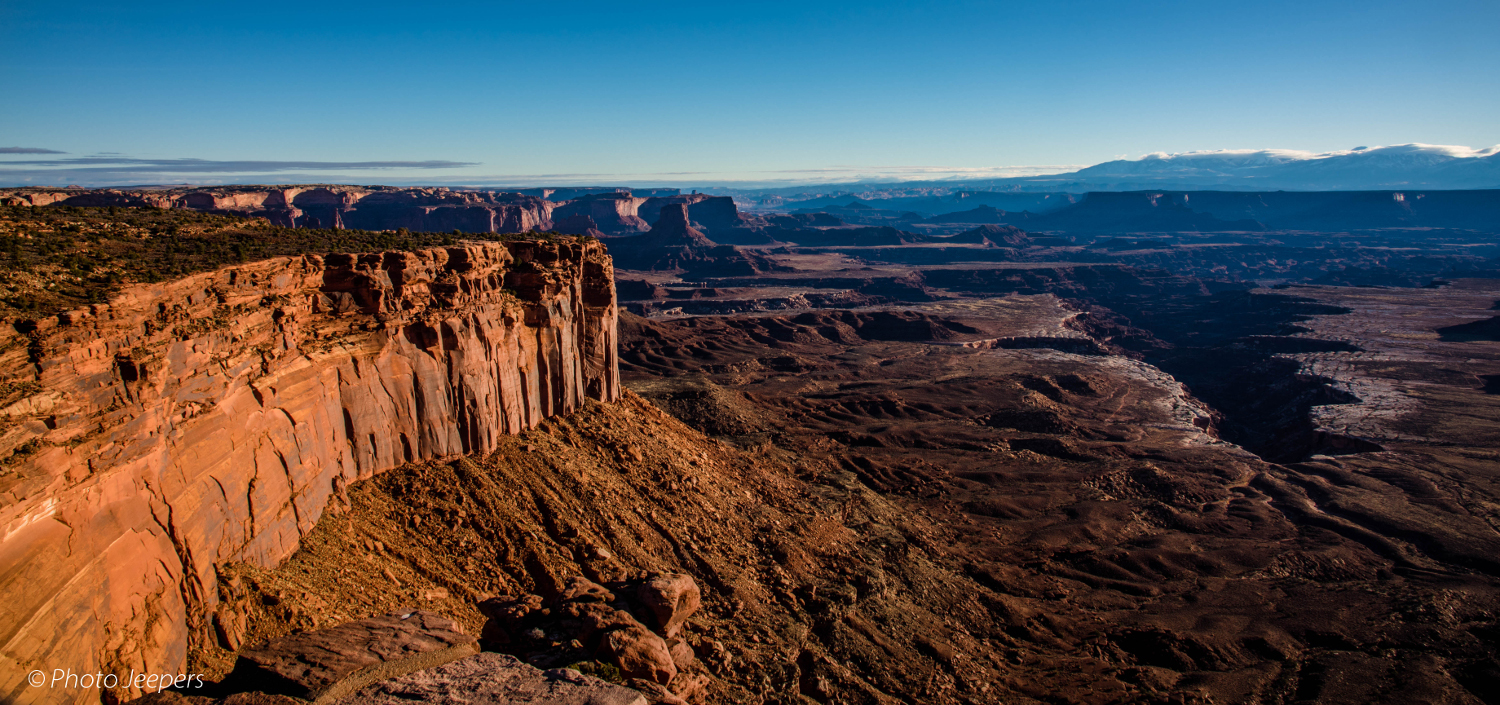 Buck Canyon Overlook - Canyonlands National Park, Utah, USA