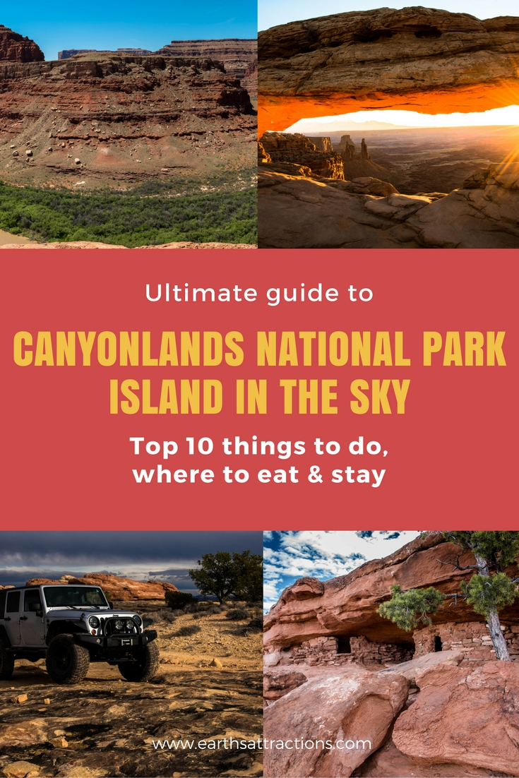 Ultimate guide to Canyonlands National Park - Island in the Sky, Utah, USA