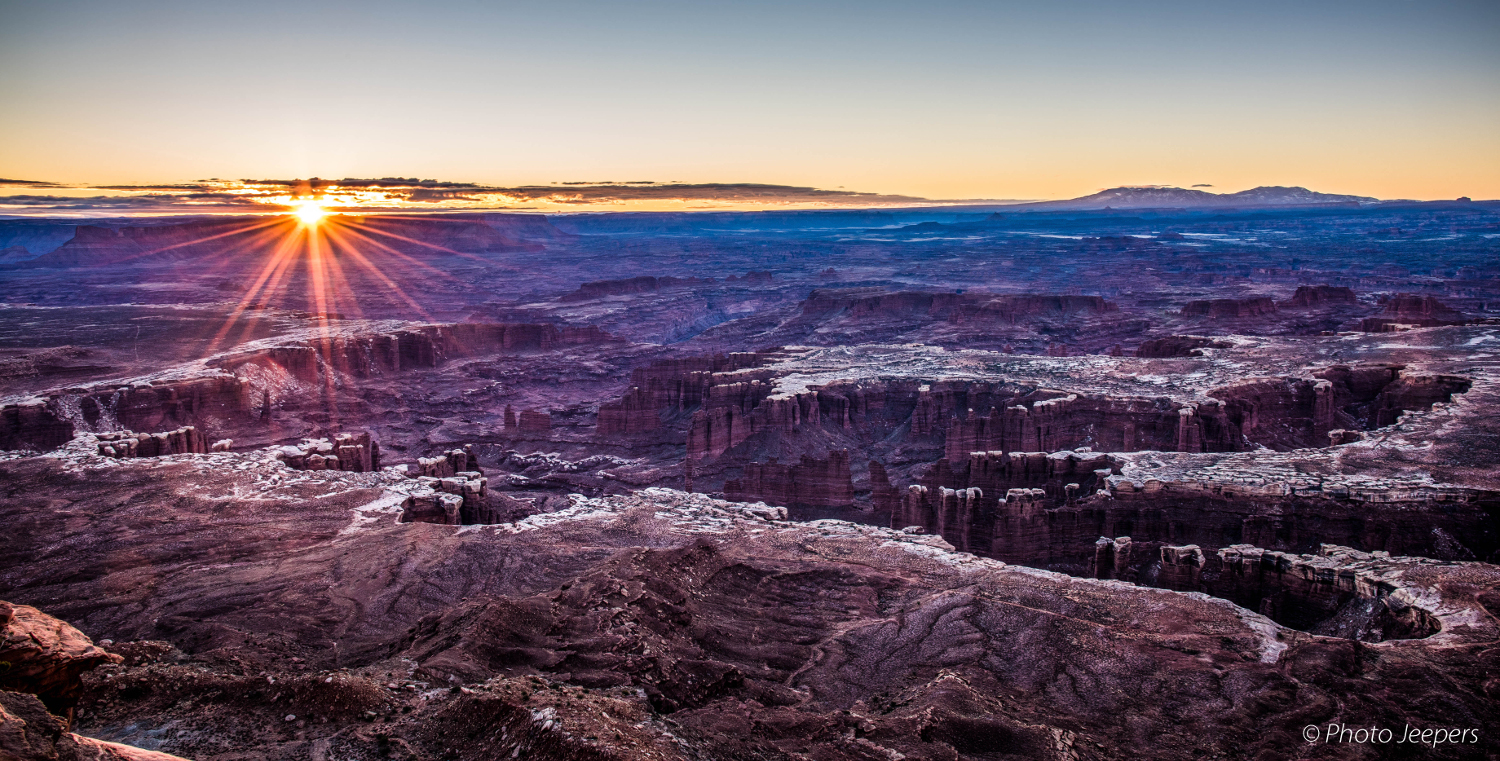 Grand View Point - Canyonlands National Park, Utah, USA