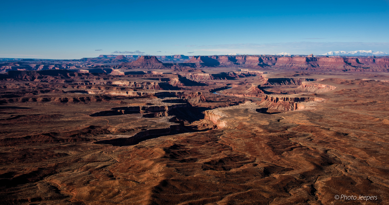 Green River Overlook - Canyonlands National Park, Utah, USA