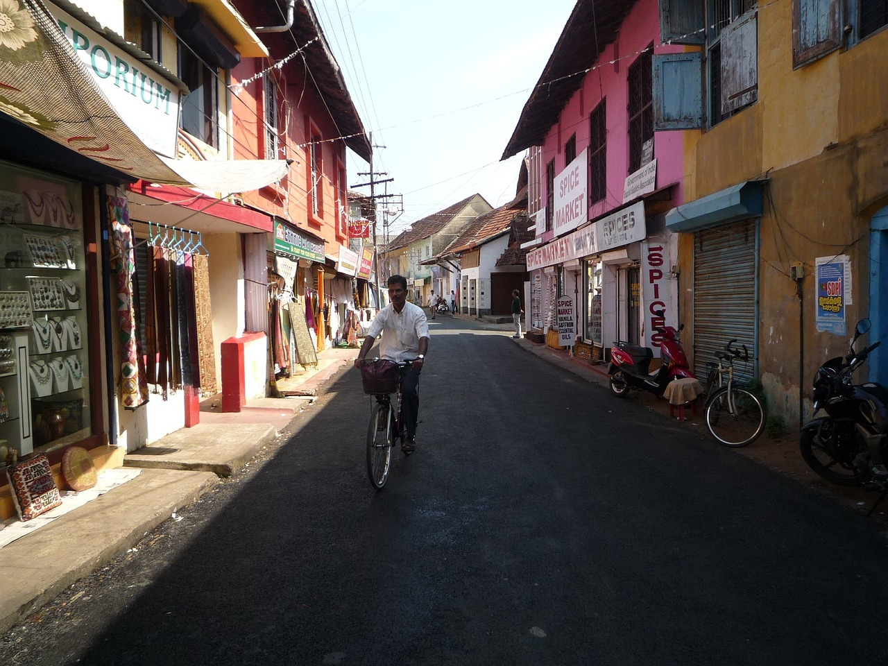 old fort of Kochi in Kerala, India - The best places to see in Kerala - A complete travel guide to Kerala