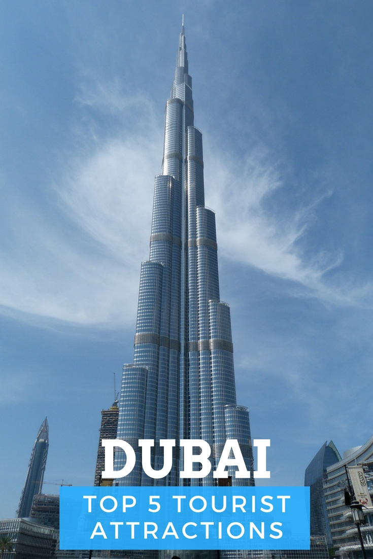 Top 5 tourist attractions in Dubai