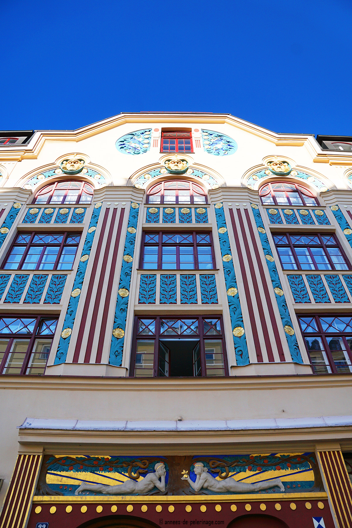 Art Nouveau house, Ainmillerstrasse, Munich