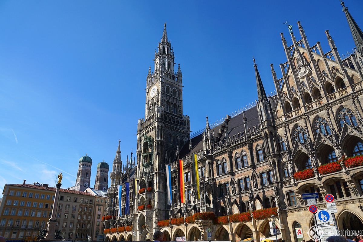 Marienplatz - City Hall, Munich, Germany