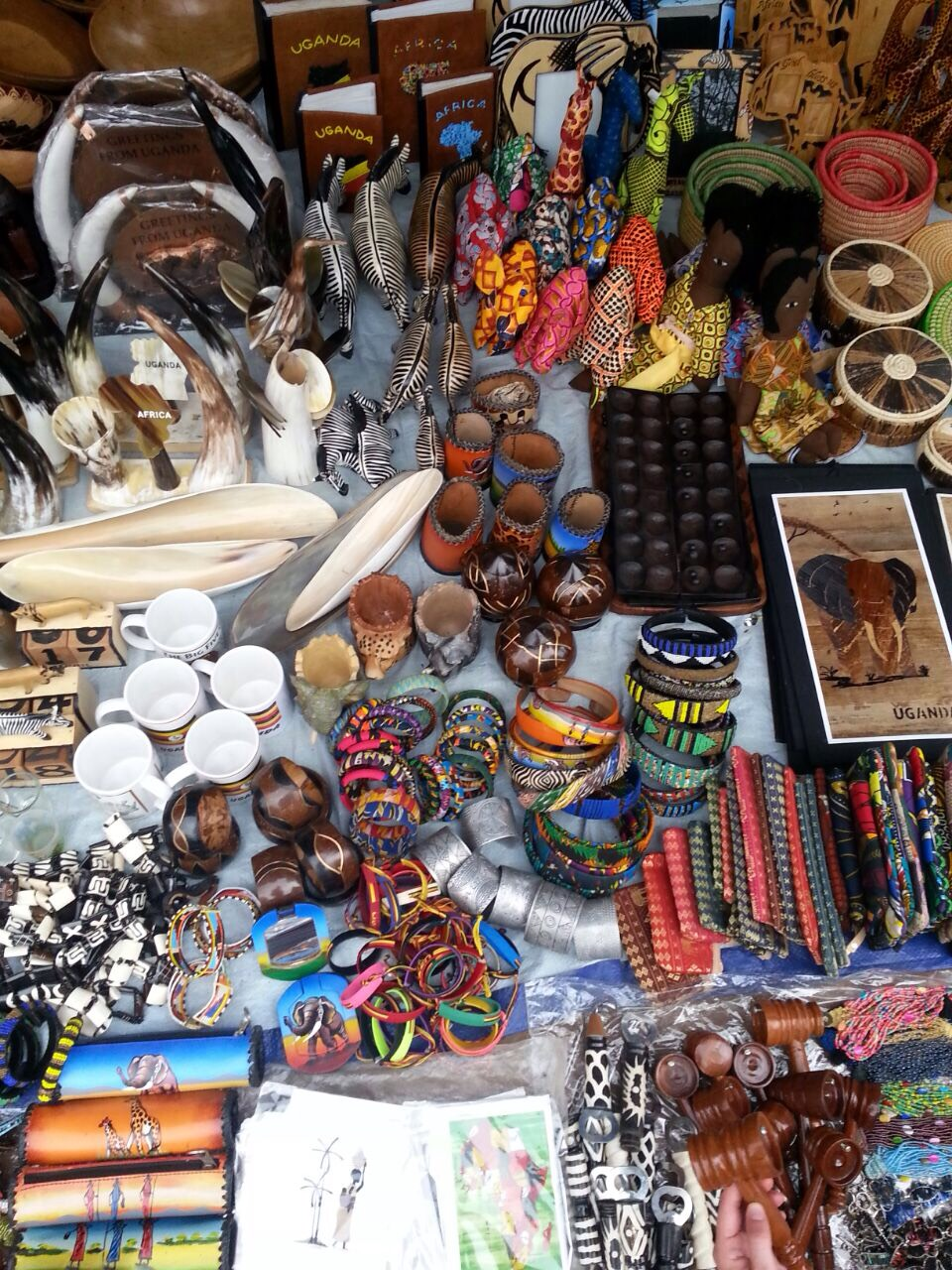 Kampala Craft Market goodies