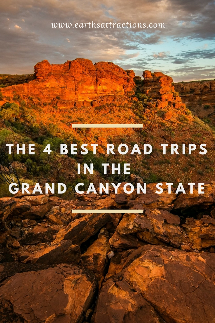 The 4 Best Road Trips in the Grand Canyon State (Arizona, USA)