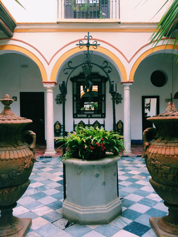 Inside Hotel Posada de Palacio