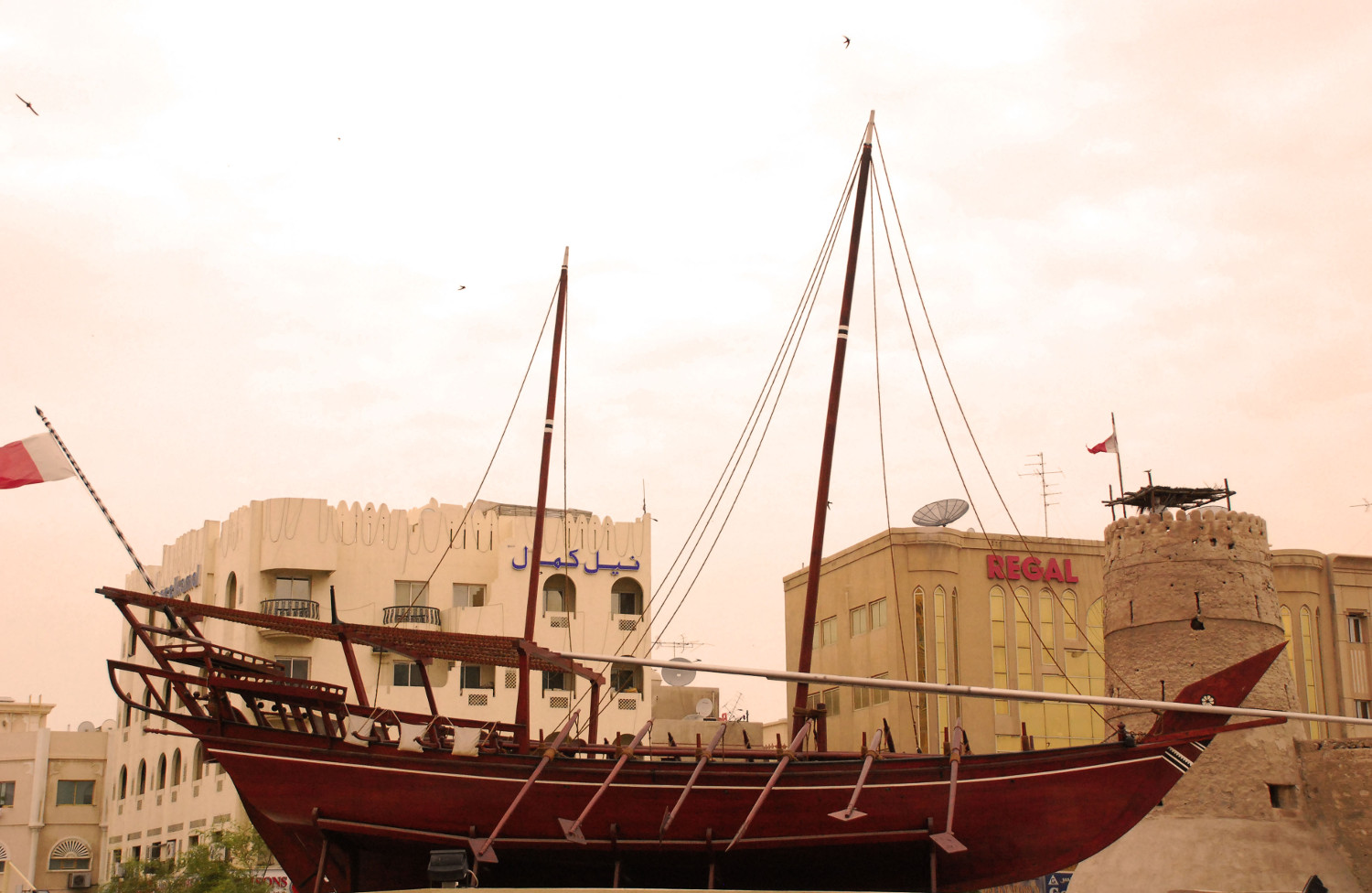 Taking a Dhow Cruise is an unforgettable experience in Dubai. Here's your complete Dubai travel guide for first timers. Includes the Dubai tourist attractions, off the beaten path things to do in Dubai, where to eat in Dubai, where to stay in Dubai, and useful Dubai travel tips. #dubai #dubaiguide #dubaitravelguide #dubaiattractions #dubaithingstodo #travel #uae #dubaitips
