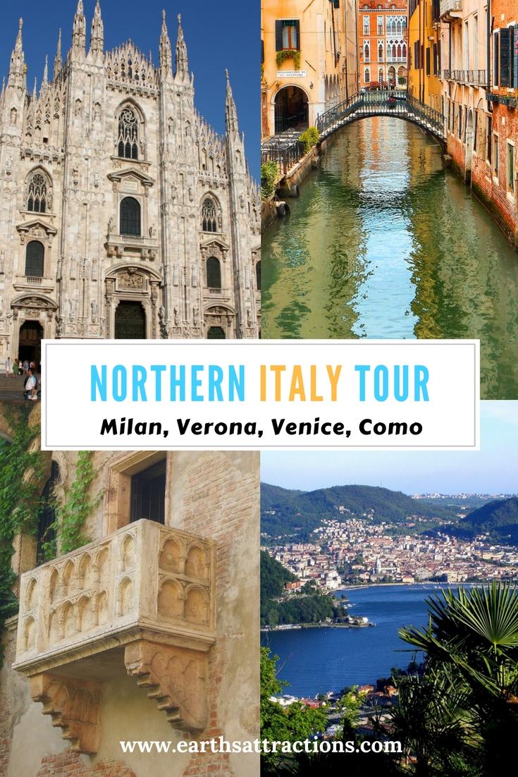 Northern #Italy #Tour: Milan, Venice, Verona, Como, Lake Garda