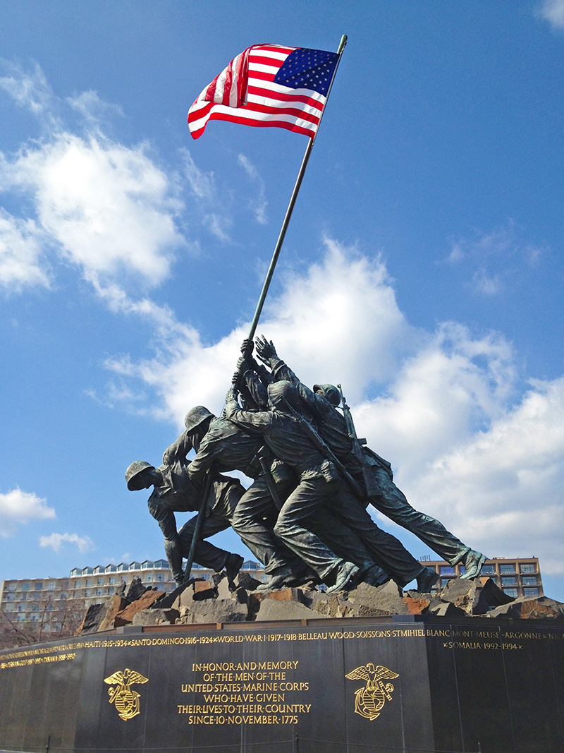 Iwo Jima, A local's travel guide to Washington, DC