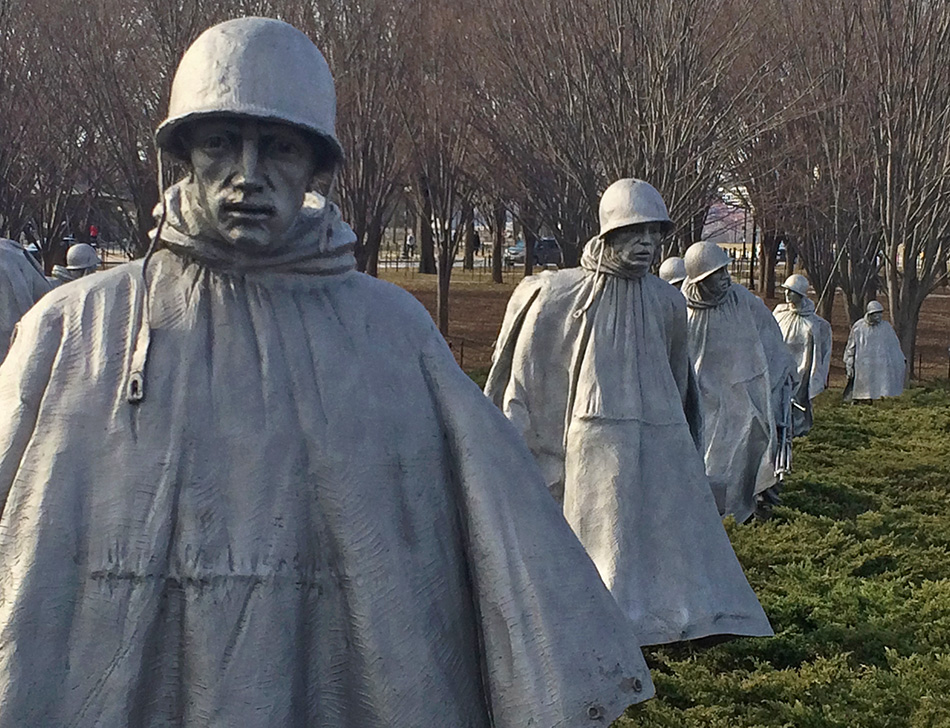 Korean War Veterans Memorial, A local's travel guide to Washington, DC
