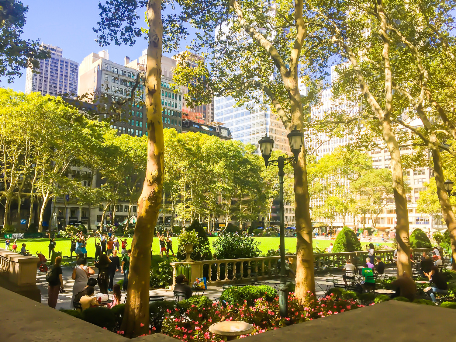 Bryant Park, New York City - things to do in New York City