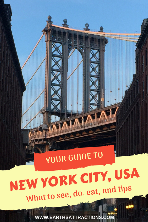 Are you heading to New York City, USA? Check out this local's guide to New York City, USA and discover the top things to do in NYC, where to eat in New York City, and tips for New York City from a local. Save this pin to your board for travel inspiration! #NYC #newyorkcity #USA #newyorkcityguide #newyorkcitytravel #travelguide #tourist #attractions #travel #nycattractions #nycfood