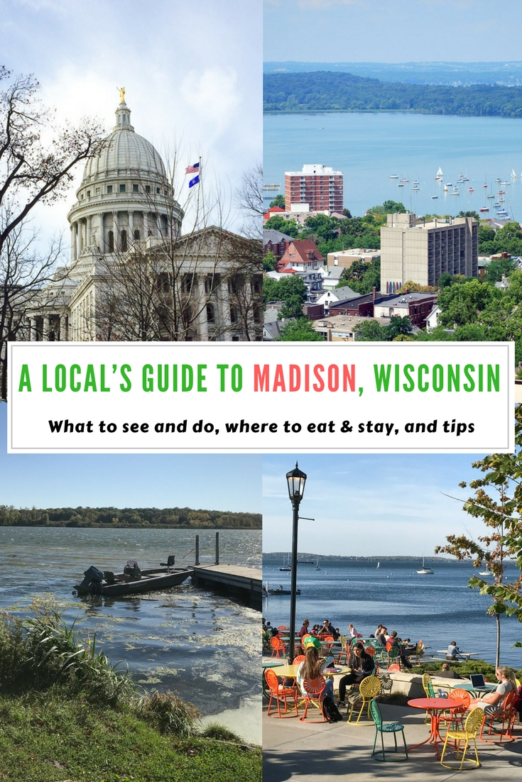 A local's guide to Madison, Wisconsin, USA - #travel in #USA, #travelguide, #Madison, top #attractions in Madison, restaurants in Madison, Hotels in Madison, tips for Madison