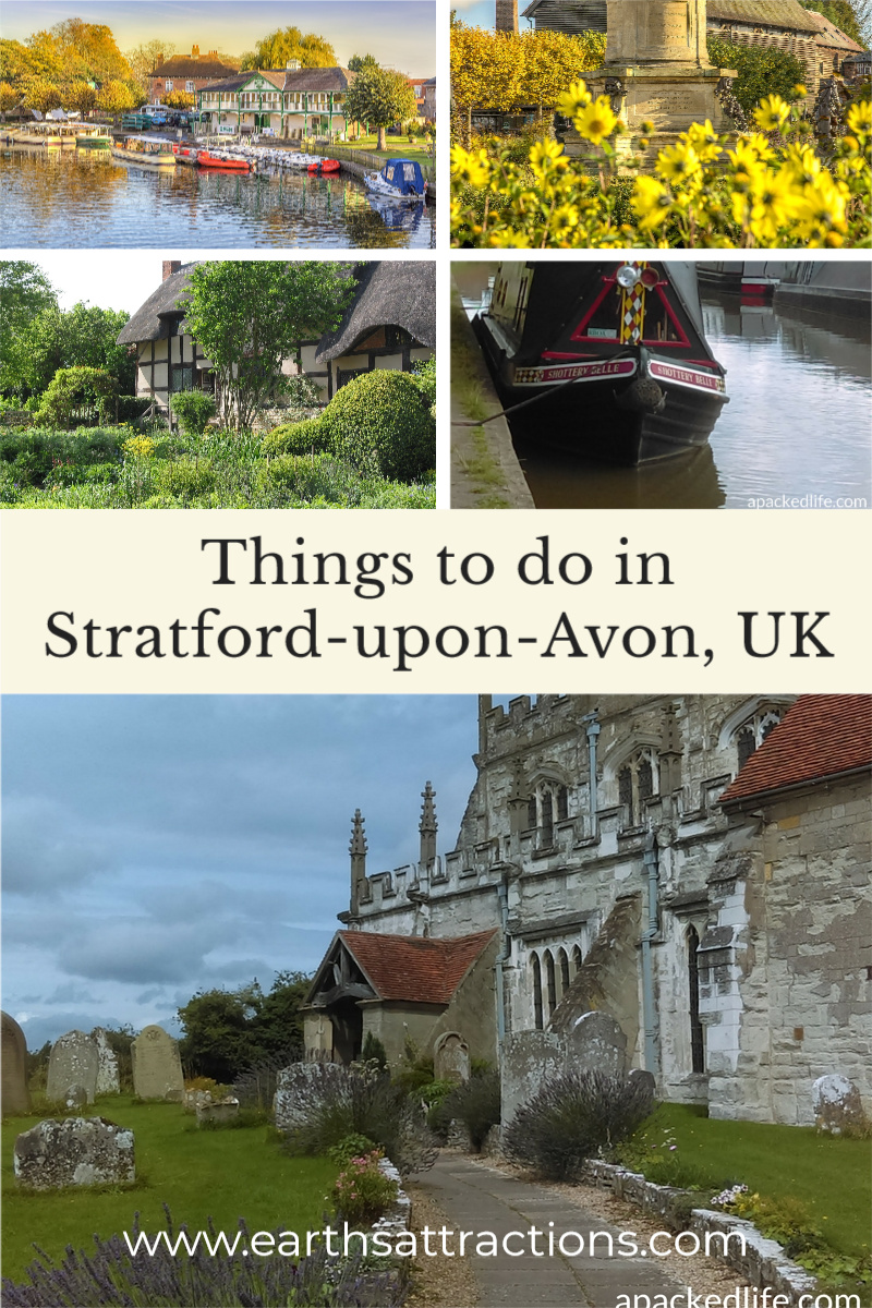 Things to do in Stratford-upon-Avon, UK. Discover Shakespeare's hometown, the best Stratford-upon-Avon attractions, as well as things to do in Warwickshire. Read this article now and save this pin to your board #stratford #stratforduponavon #uk #warwickshire #uktravel #europetravel #travelguides #traveldestination #smalltown #smalltowntravel #earthsattractions