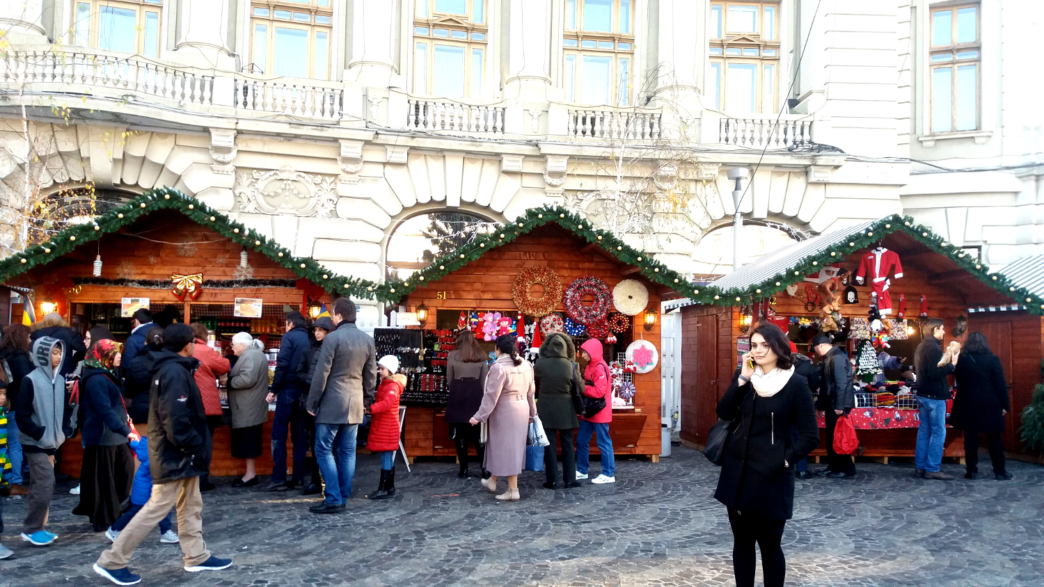 The Bucharest Christmas Market, Romania is one of the best Christmas Markets in Europe. Read the article and see the top Christmas markets in Europe. #christmas #christmasholidays #christmastrips #europemarkets #europechristmasmarkets #christmasmarkets