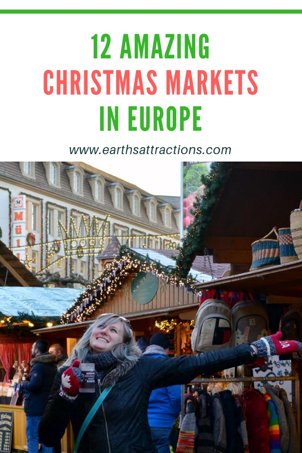 Do you like the Christmas markets in Europe? Here are the top 12 Christmas markets in Europe - from famous ones to lesser known ones - that will enchant you and make your winter holidays special. Save this pin to your board #christmas #christmasholidays #christmastrips #europemarkets #europechristmasmarkets #christmasmarkets