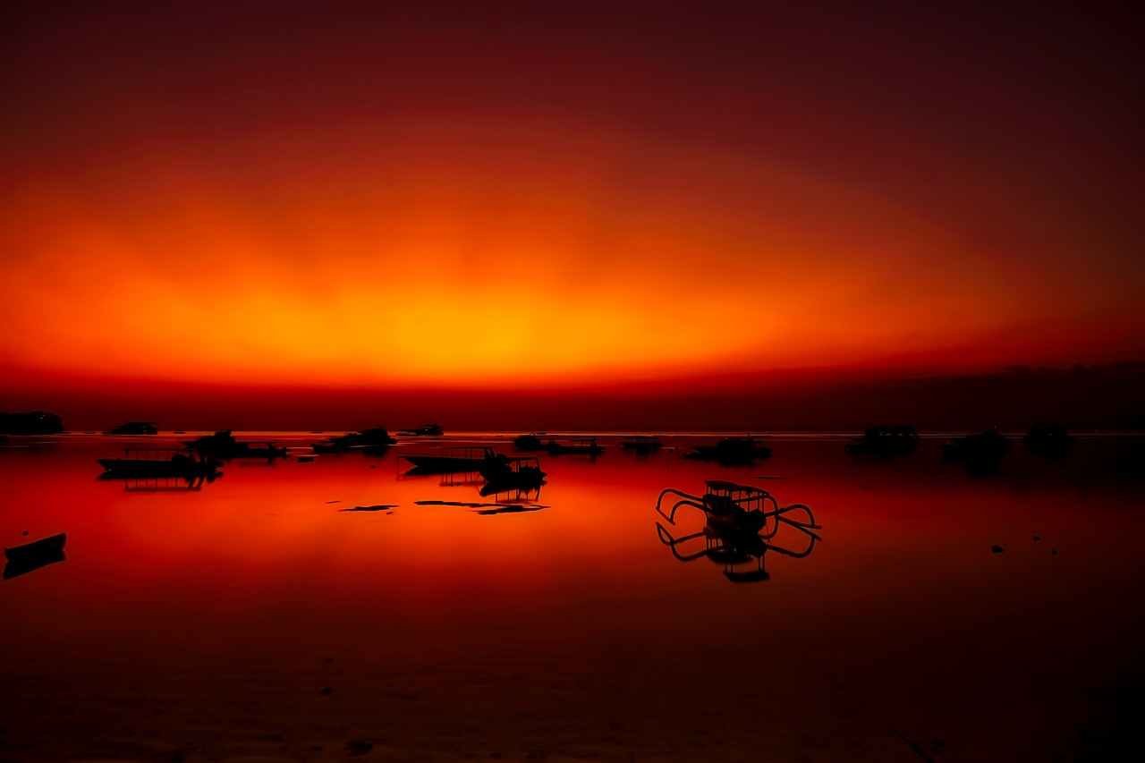 Indonesia dusk pixabay