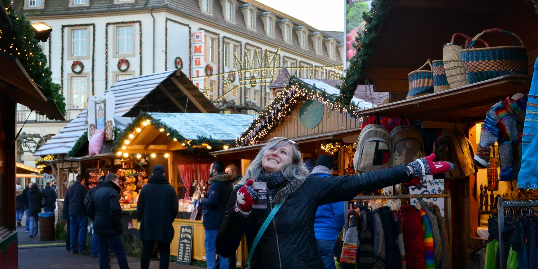 The Kassel Christmas Market, Germany is one the most popular Christmas markets in Europe. Check out this article and discover the best Christmas Markets in Europe. #christmas #christmasholidays #christmastrips #europemarkets #europechristmasmarkets #christmasmarkets