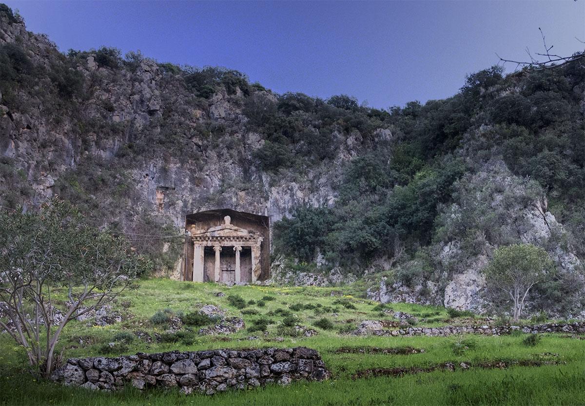 Tomb of Amynthas - Fethiye