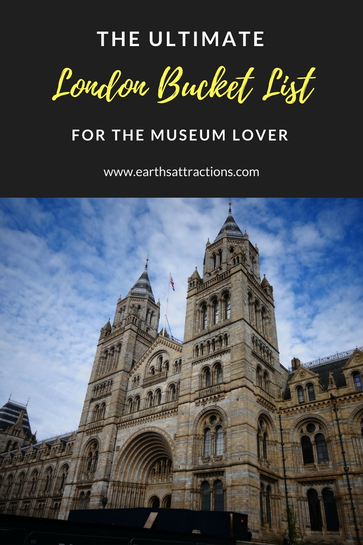 The Ultimate London Bucket List for the Museum Lover; London UK Museums, museums in London, best museums in London, free entrance #museums in London, #free museums #London, free #attractions London, London bucket list