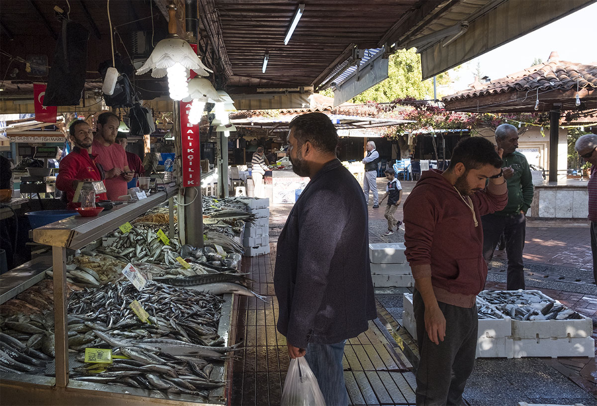 The Fish Market in Fethiye has to be on your Fethiye itinerary