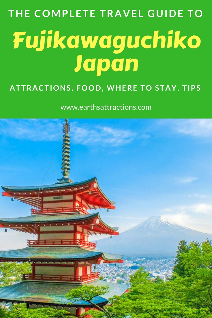 The complete guide to Fujikawaguchiko, Yamanashi, Japan. Discover the top attractions in #Fujikawaguchiko #Japan, cool Fujikawaguchiko restaurants, Fujikawaguchiko hotels from this Fujikawaguchiko travel guide