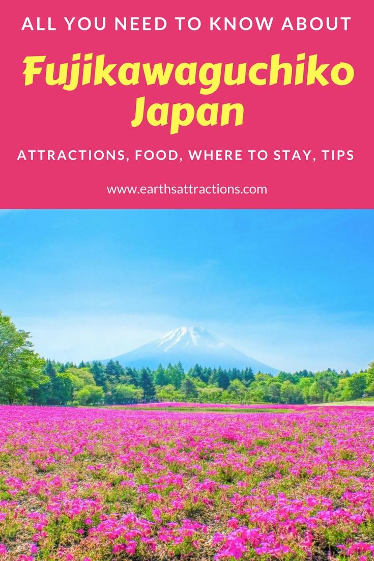 The complete guide to Fujikawaguchiko, Yamanashi, Japan | top attractions in #Fujikawaguchiko #Japan | Fujikawaguchiko restaurants, Fujikawaguchiko hotels, Fujikawaguchiko #travelguide, Fujikawaguchiko travel guide