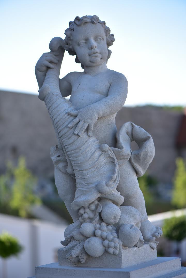 A baroque statue in the Bratislava Castle Gardens - A local's guide to Bratislava