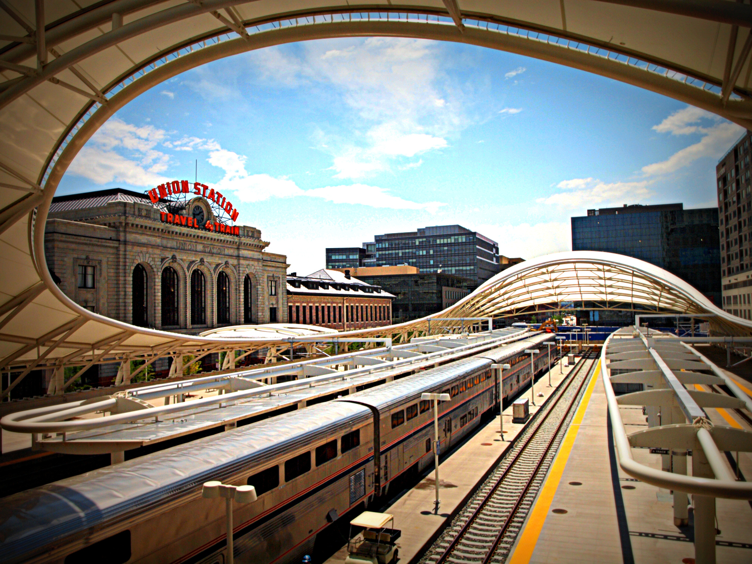Denver's Union Station - top tourist activities in Denver
