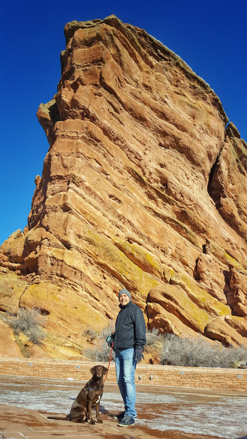 One of the Huge Rocks at Red Rocks