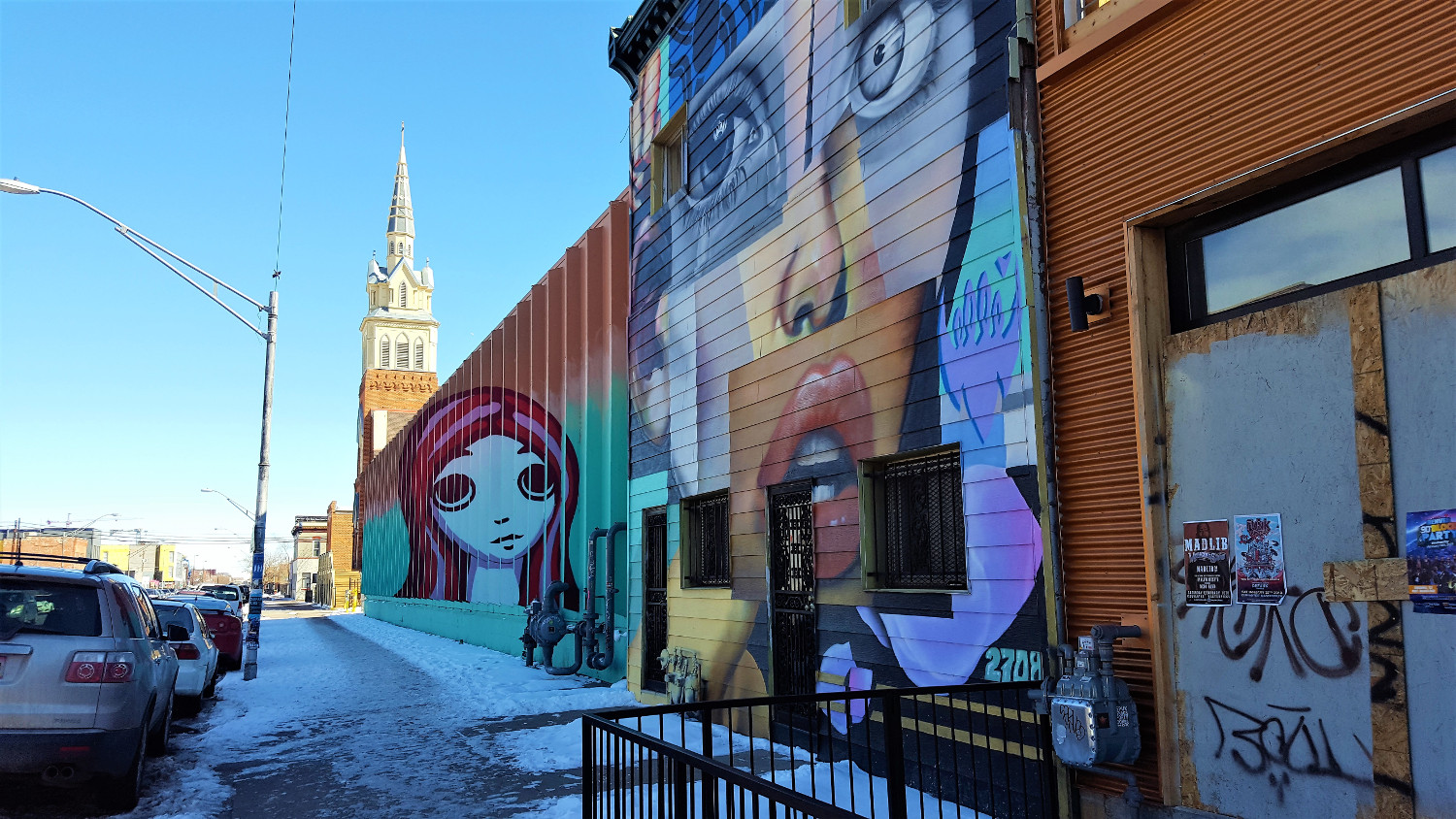 Street Art in RiNo - top landmarks in Denver