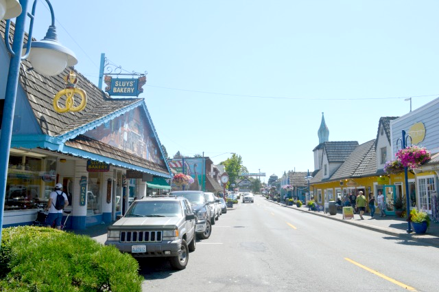 A local's guide to Poulsbo - Most popular view of the main street, downtown Poulsbo