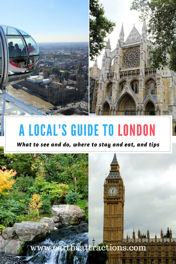 A local's guide to London - the complete guide to UK's capital with everything you need to know to plan your trip to London. Use this resident's guide to London, England and discover discover the top things to see, where to eat and where to stay in London and tops from a local. Click on the pin to read more and Save the pin for later!