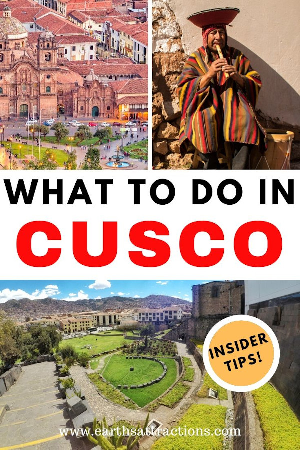 What to do in Cusco, Peru. Discover the best things to do in Cusco, interesting food in Cusco, hotels in Cusco, and practical tips for visiting Cusco, Peru. #cusco #peru #cuscothingstodo #thingstodo #southamerica #earthsattractions #travelguides