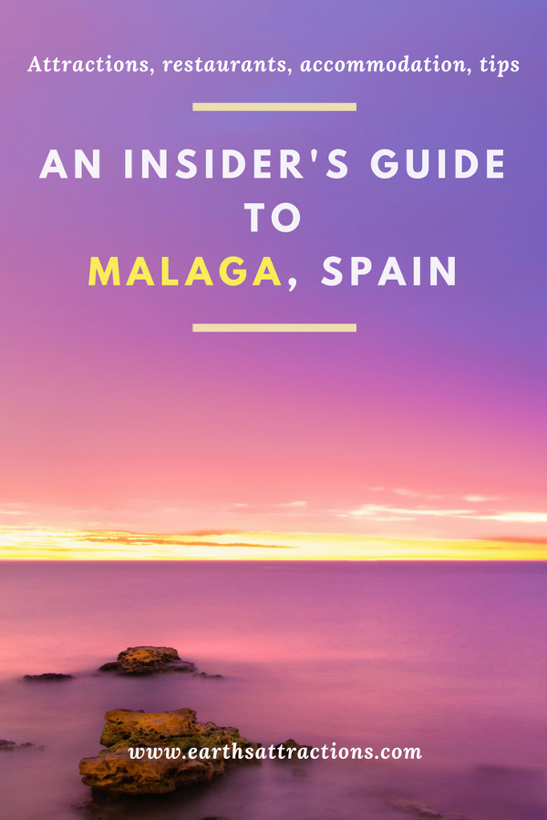 The ultimate insider's guide to Malaga, Spain – discover the top things to see, where to eat and where to stay in Malaga and tips from a resident in this ultimate guide to Malaga. Save this pin for later. #tourist #attractions in #Malaga, #Spain #travelguide #travel #Europe