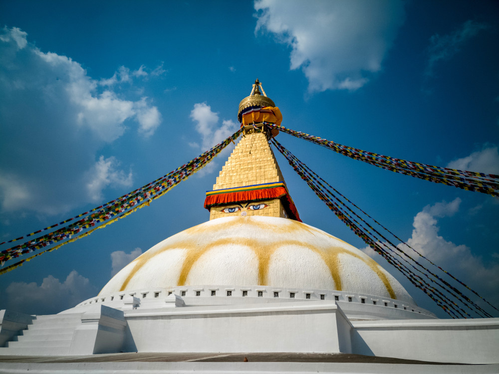 Bouddhanath temple, Nepal