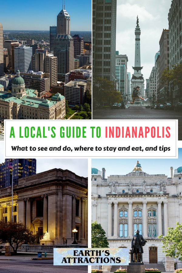 Planning a trip to Indianapolis? Here's an insider's guide to Indianapolis, USA. Use it to discover the top things to see in Indianapolis, where to eat in Indianapolis, where to stay in Indianapolis (hotels in Indianapolis), and tips for Indianapolis from a local in this ultimate guide to Indianapolis. Save this pin to your board for travel inspiration! #Indianapolis #USA #Indianapolistravel #travelguide #tourist #attractions #travel